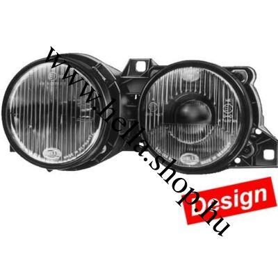 BMW 3 (E30) Black Hella DESIGN fényszóró szett