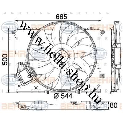 Motorhűtő ventilátor