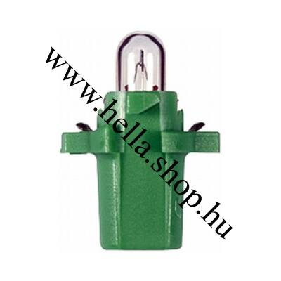 Műszerfal izzó zöld
