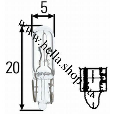 Kapcsoló izzó 12V/1,2W
