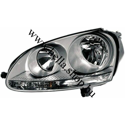 VW Golf V.,/VW Jetta III. CHROME fényszóró
