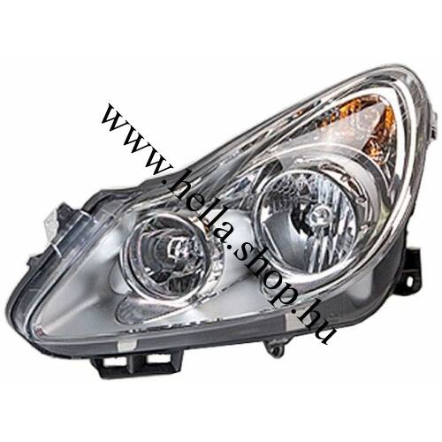 Opel Corsa D halogén fényszóró