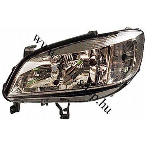 Opel Zafira halogén fényszóró