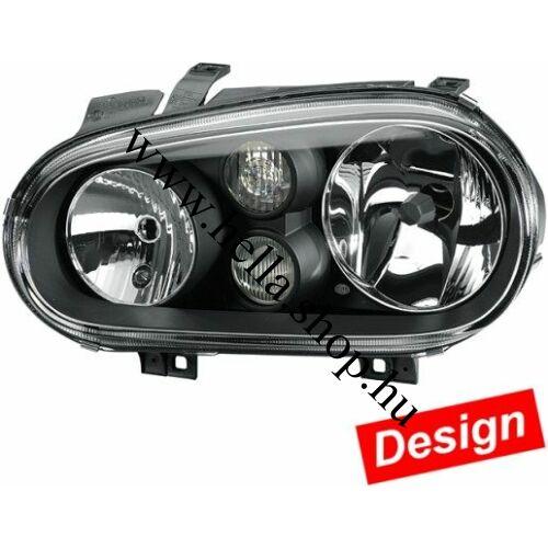 VW Golf IV./Golf III. kabrió fényszóró BLACK