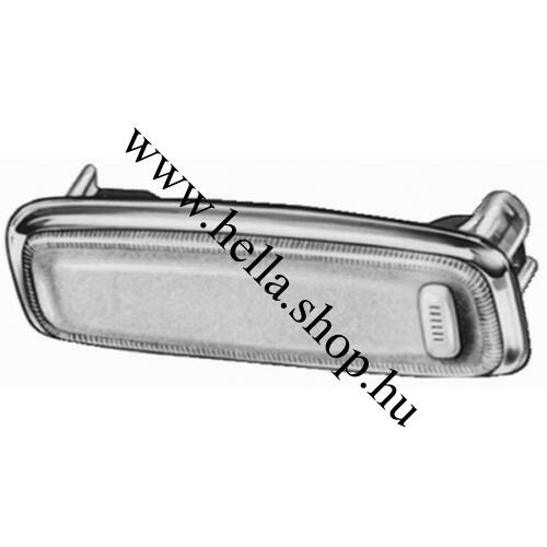 VW Golf I. belső világítás