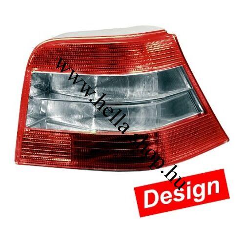 VW Golf IV. DESIGN hátsó lámpa szett /Red-Brilliant/