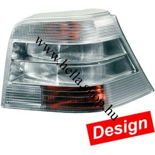 VW Golf IV. DESIGN hátsó lámpa szett /Silver/